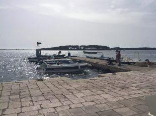Puglia Italy Porto Cesaro Sea Toes Clear Crystal Water Sunshine Marina Boats