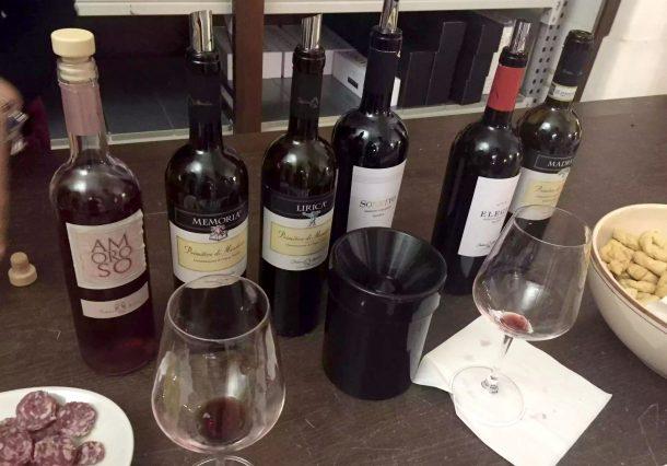 Museo della Civiltà del Vino Primitivo Manduria Puglia Wine Tasting Rose Red White Amoroso Cantina Produttori Vini Manduria Memoria Lirica Elegia Sonetto Madrigale