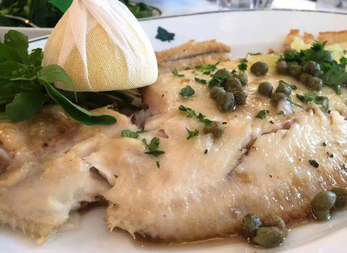 Ivy Cafe Restaurant Review Marylebone London Lunch Lemon Sole Caper Beurre Noisette Parsley