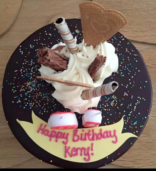 Kerry Birthday BBQ Essex Buckhurst Hill Meat Salads Outdoor Dining Friends Sunshine Happy Birthday Cake