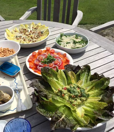 Fathers Day BBQ Marleys Family Sunshine Outdoor Dining Garden Celebration Meat Salads BBQ Lunch
