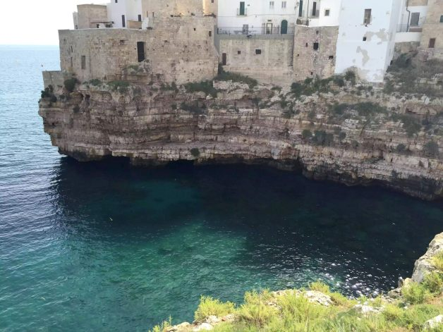 Polignano A Mare Hotel Covo Dei Saraceni Italy Puglia Sunshine Beach Sea Crystal Blue Birthday Tourists