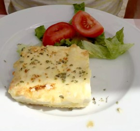 Taverna de Santos Torre Canne Puglia Italy Sunshine Sunbathing Beach Relax Restaurant Feta saganaki