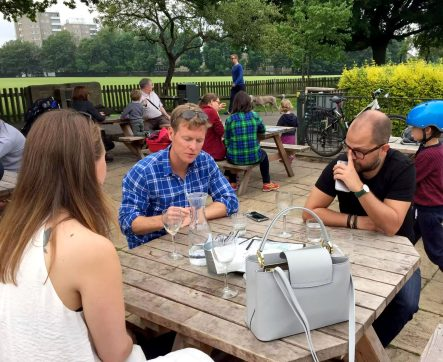 Skylark Cafe Restaurant Wandsworth Common Terrace Lunch Drinks Outdoor Dining