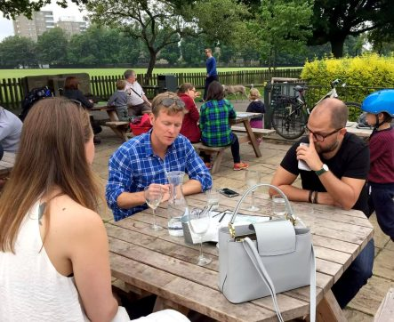 Skylark Cafe Restaurant Wandsworth Common Terrace Lunch Drinks Outdoor Dining