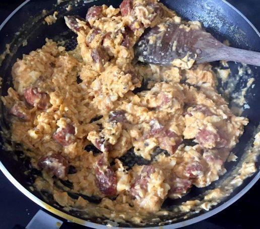 Scrambled Egg Chorizo Avocado Brunch Grain Free Toast Gluten Paleo SCD EatClean