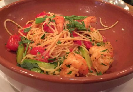 Regent's Canal Camden Walk Primrose Hill Hampstead Fish Cafe Seafood Spaghetti