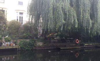 Regent's Canal Camden Walk Primrose Hill Outdoor Dining Riverside