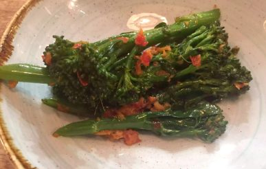 Lure Fish Kitchen North London Kentish Town Seafood Restaurant Broccoli Ginger Chilli