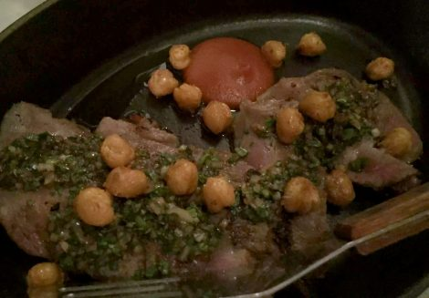 The Ninth Charlotte St Fitzrovia London Mediterranean Tapas Restaurant Jun Tanaka Iberia Pork Loin Herb Vinaigrette