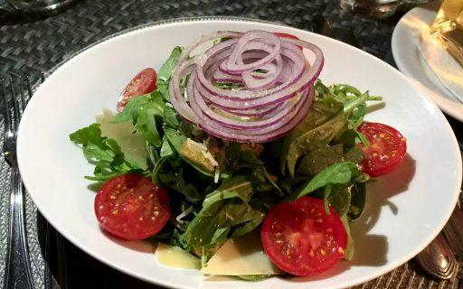 A Quinta Restaurant Almancil Algarve Portugal Rocket Parmesan Seeds Salad