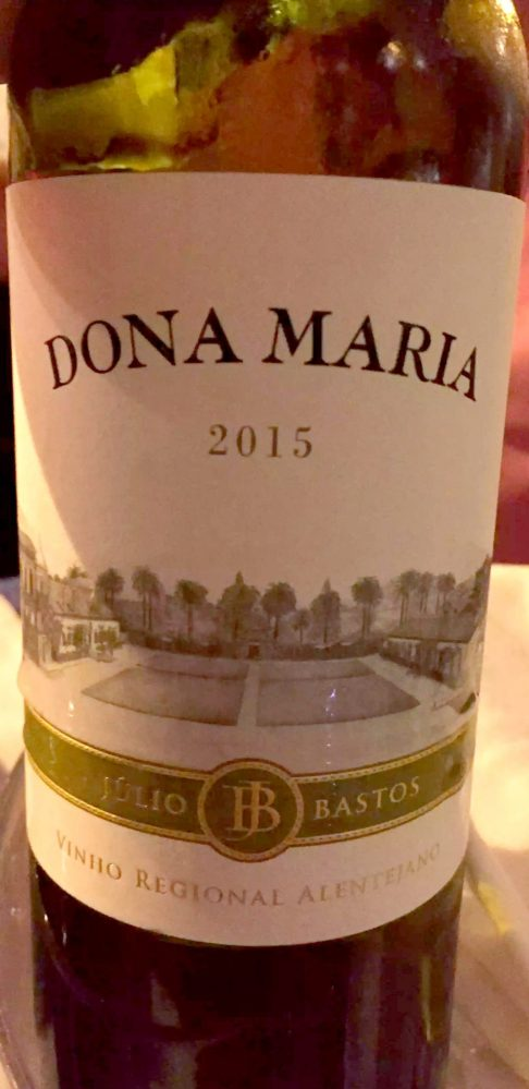 A Quinta Restaurant Almancil Algarve Portugal Dona Maria wine
