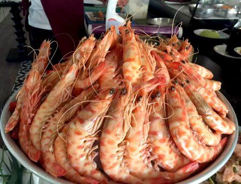 Bovino Love Brunch Quinta do Lago Algarve Portugal Shrimp Prawns