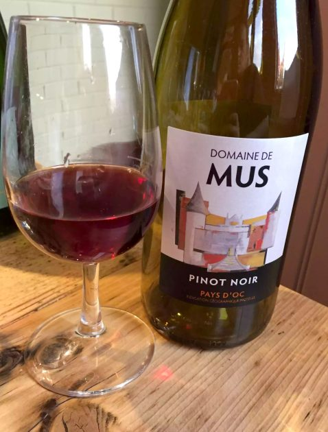 Great Northern Wine Tasting Food Pairing St Albans Domaine de mus Pinot Noir