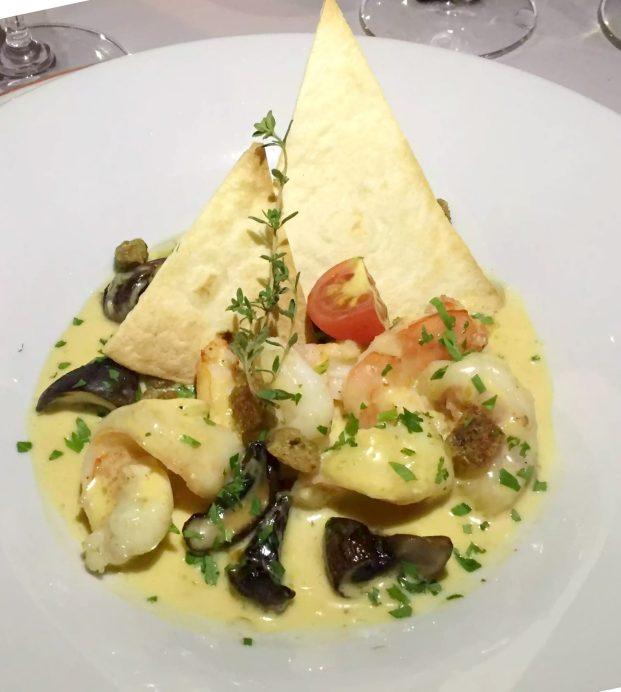 Pequeno Mundo Restaurant - Algarve - Portugal King Prawns