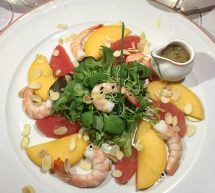 Pequeno Mundo Restaurant - Algarve - Portugal Prawn & Mango Salad