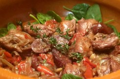 Chicken & Chorizo Stew with Rioja, Spanish Style by Emma Eats & Explores - Gluten-Free, Grain-Free, Dairy-Free, Sugar-Free, SCD & Paleo