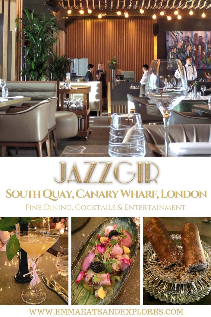 Jazzgir – South Quay, Canary Wharf, London