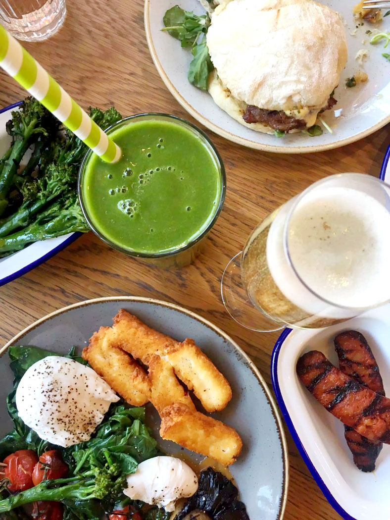 Brunch at Arlo's Balham, London