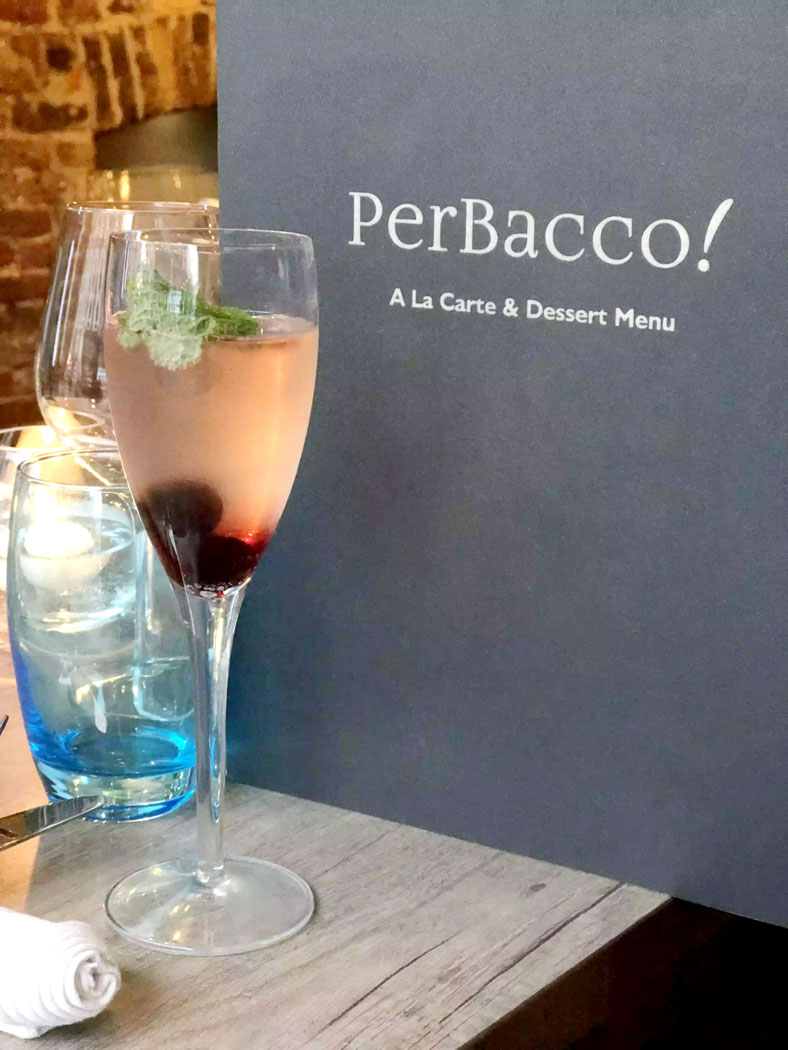 Dinner at PerBacco – Parsons Green, London