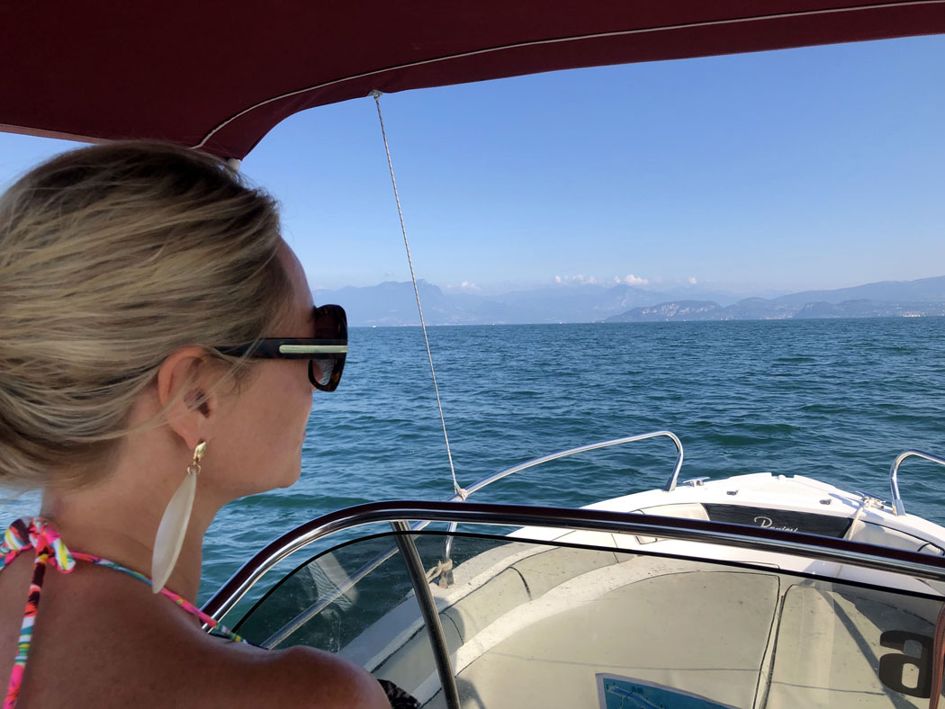 Hiring A Boat on Lake Garda, Italy