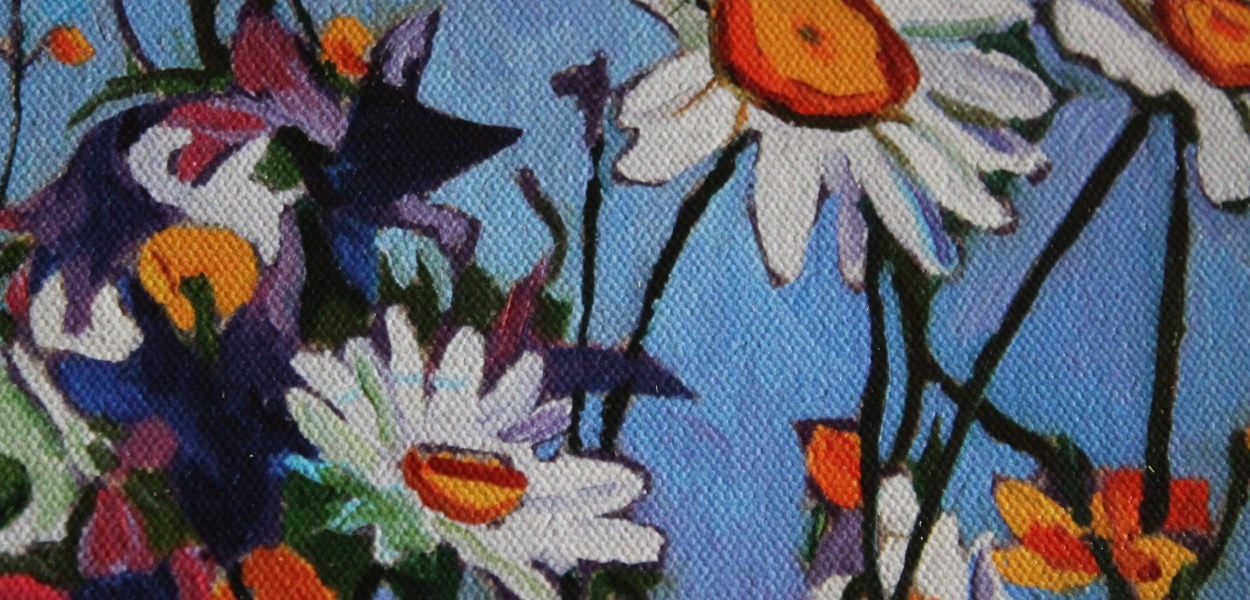 Painting of Wild flowers