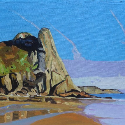 Gower painting, Great Tor