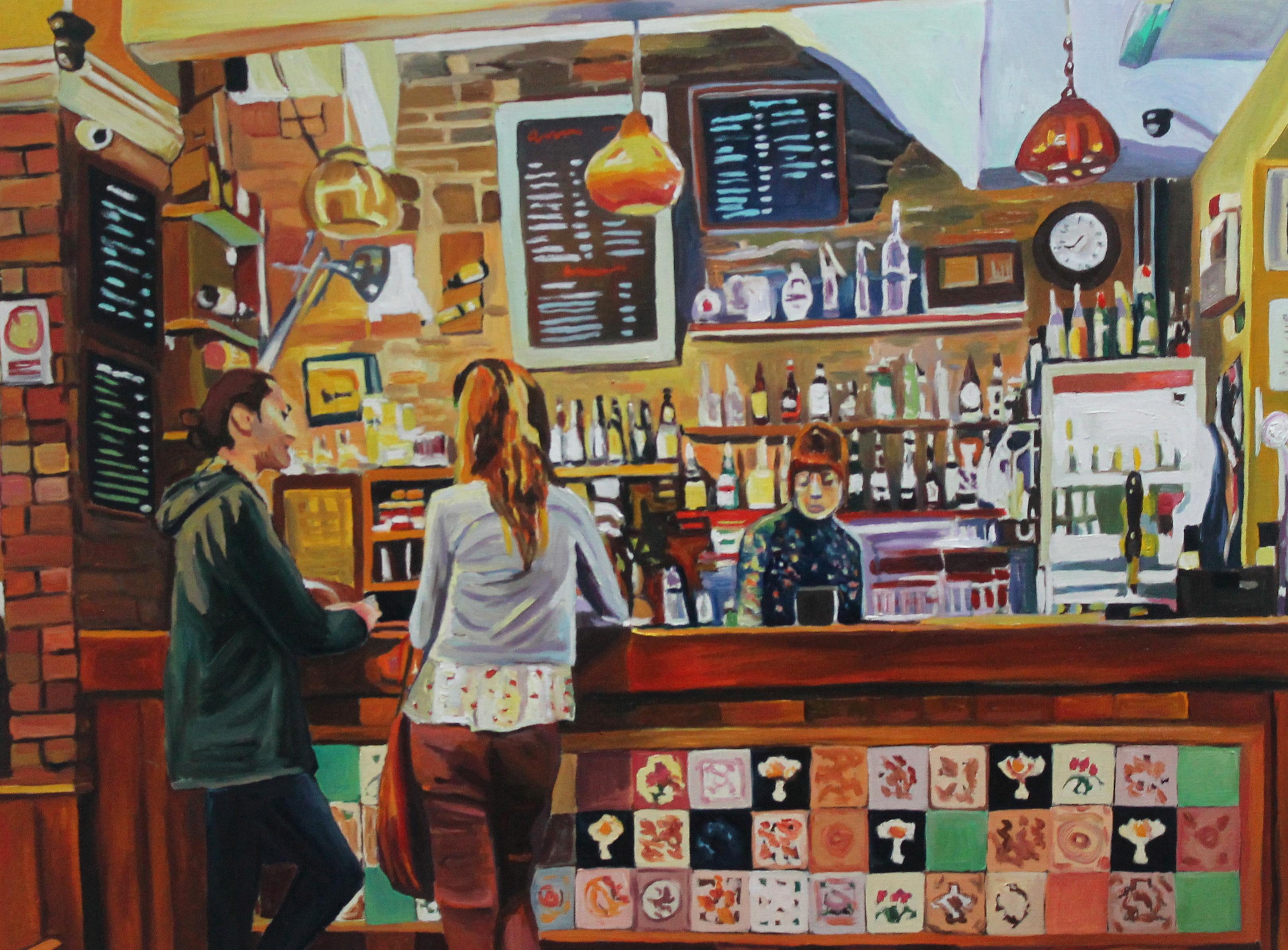 """The Bar at """"Noah's Yard"""""""