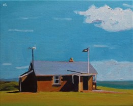 Coast watch station, Worms Head
