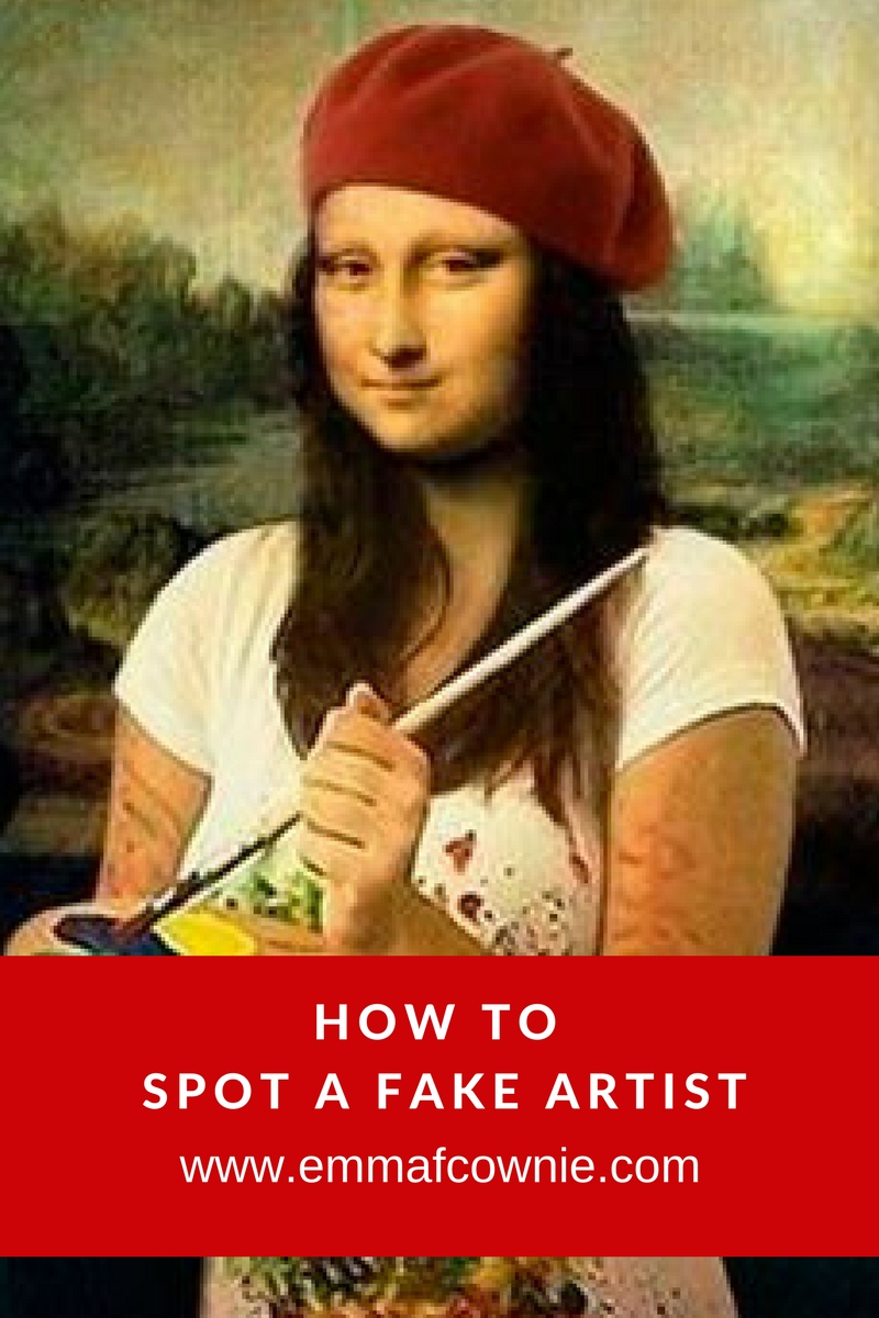 How to Spot a Fake Artist