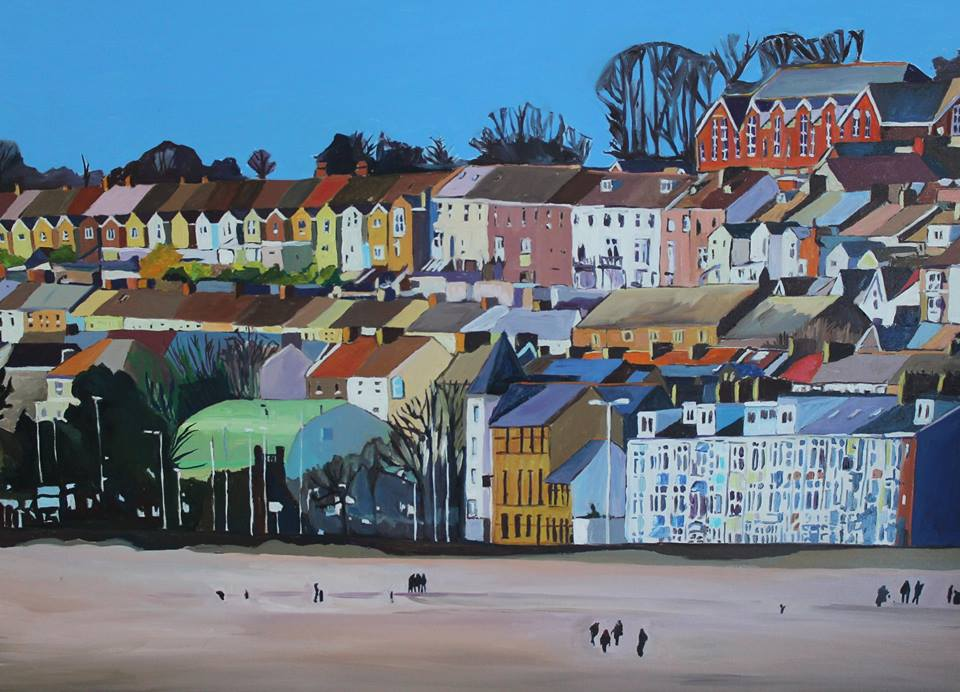 Painting of Swansea Beach