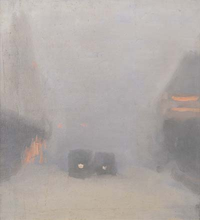 Beckett,_Clarice_-_Passing_Trams,_1931