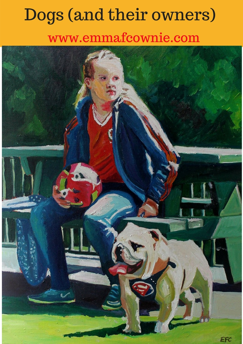 Painting Dogs (and their owners)
