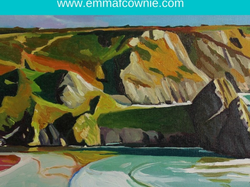 Three Cliffs Bay Archives – Donegal and Gower Artist