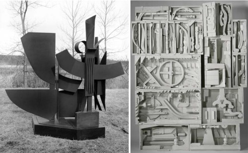Left-Louise-Nevelson-Night-Gesture-I-1976-86-Right-Louise-Nevelson-Dawns-Wedding-Chapel-IV-1959-60