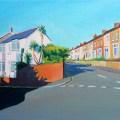 Painting of Malvern Terrace, swansea