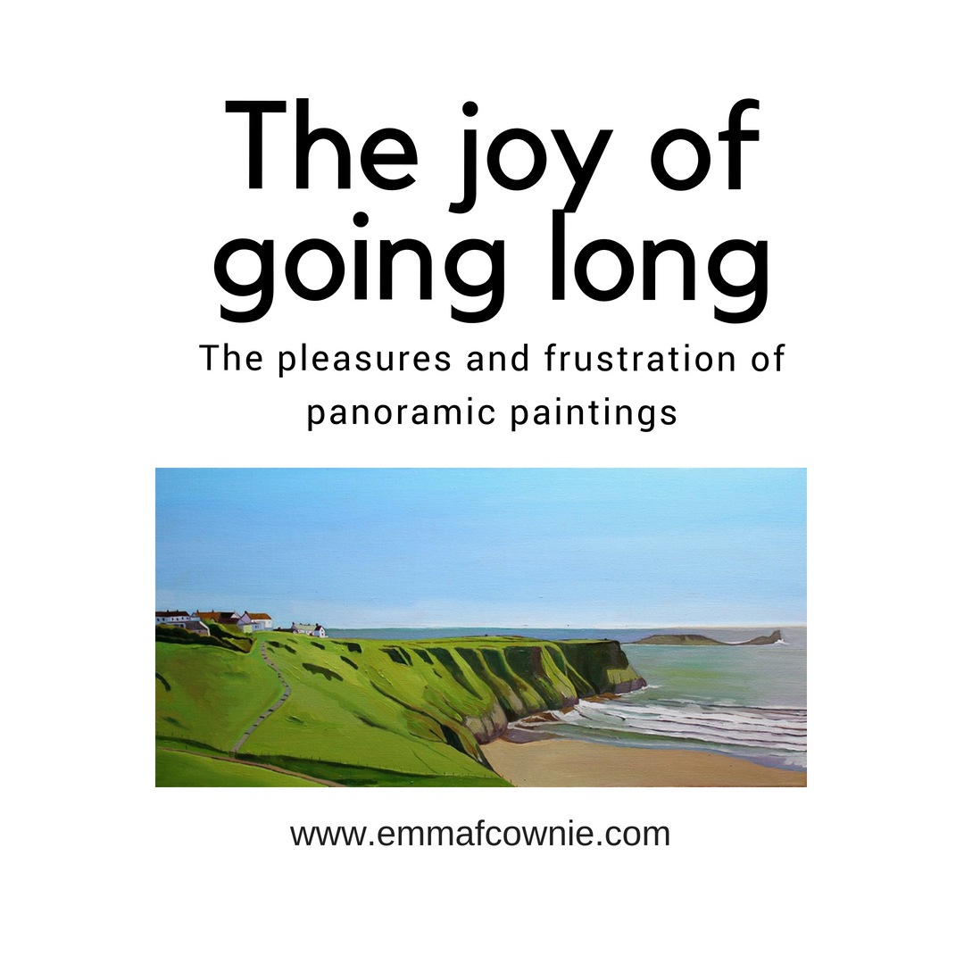 The pleasures and frustration of panoramic paintings