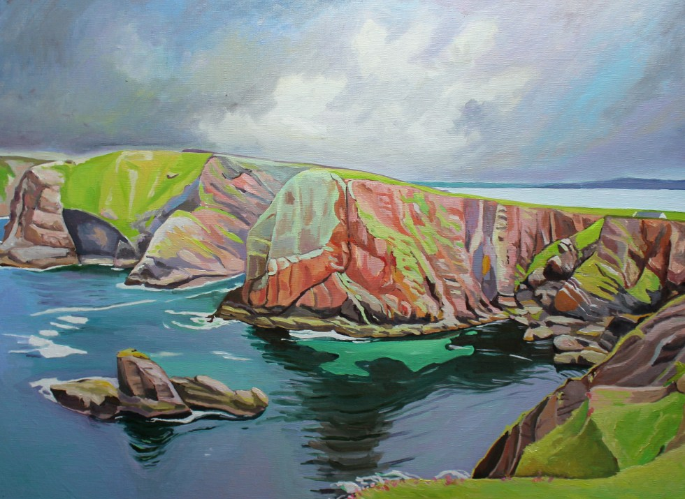 Painting of Tory Island Donegal, Ireland_EmmaCownie