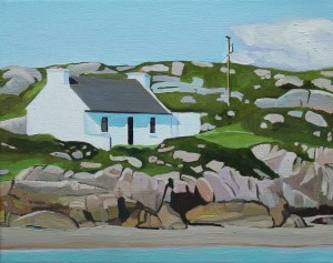 Donegal painting of cottage for sale