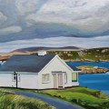 Painting of Doneal cottage Ireland