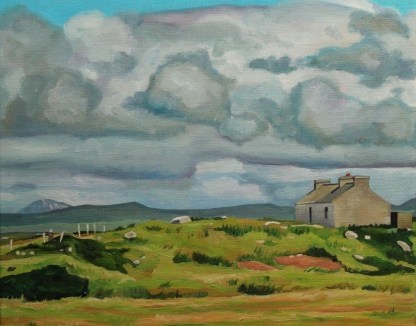 Painting of Arranmore, Donegal, Ireland_Emma Cownie