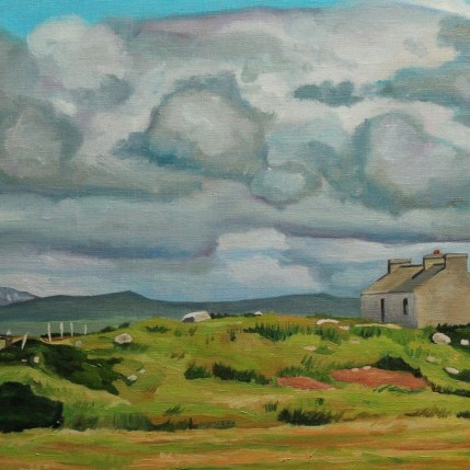 Painting of Arranmore, Donegal, Ireland