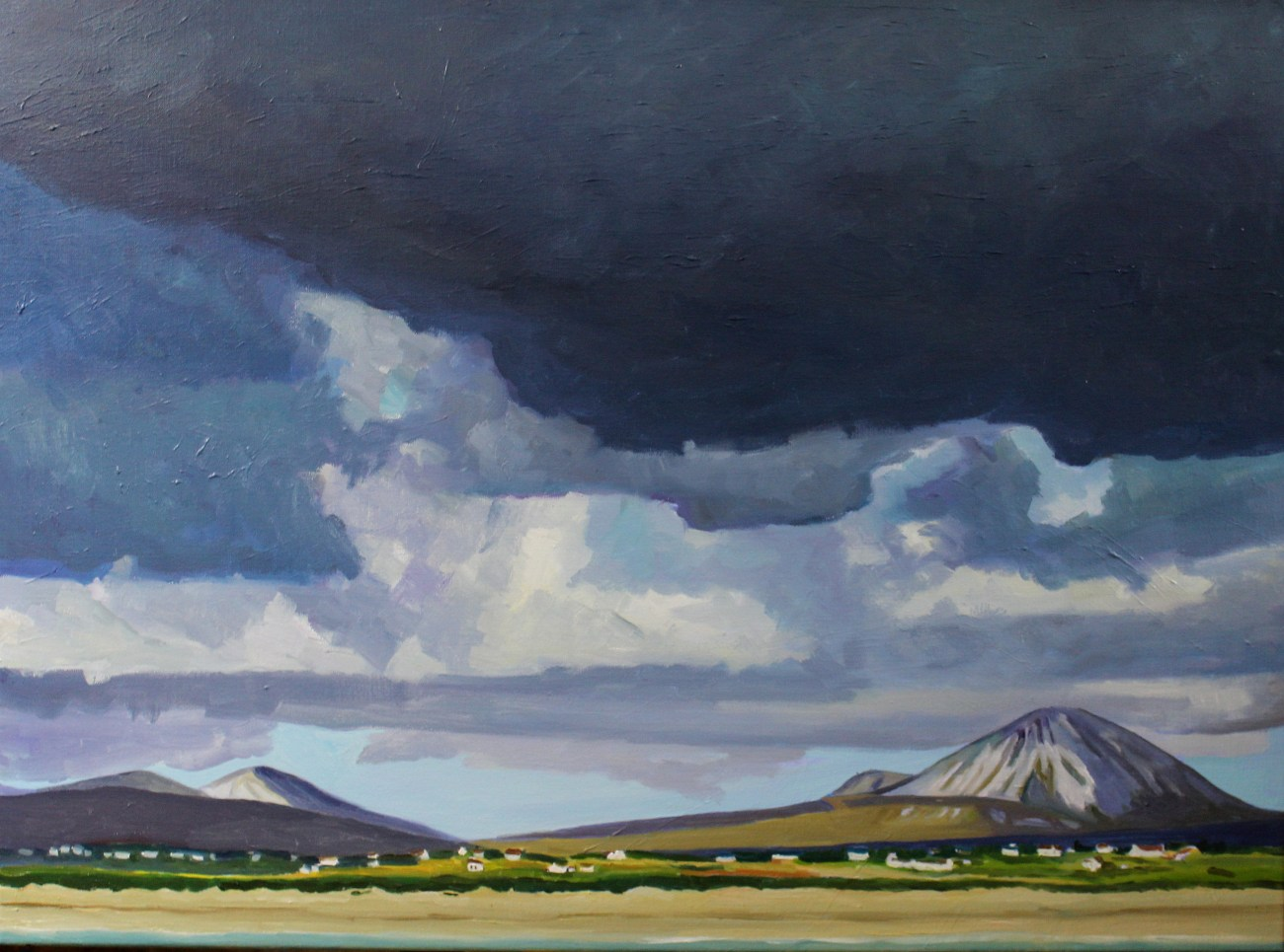 Painting of Errigal, Donegal, Ireland