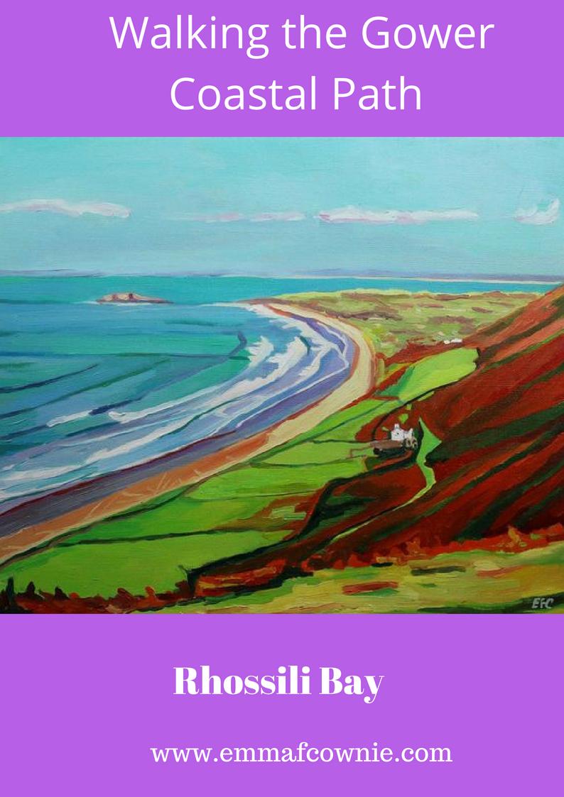 Gower Coastal Walk: Rhossili Bay