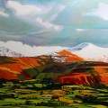Brecon Beacons painting commission