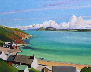 Looking out from Mofa Nefyn