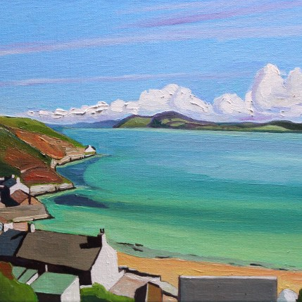 Painting of View of Morfyn Nefyn