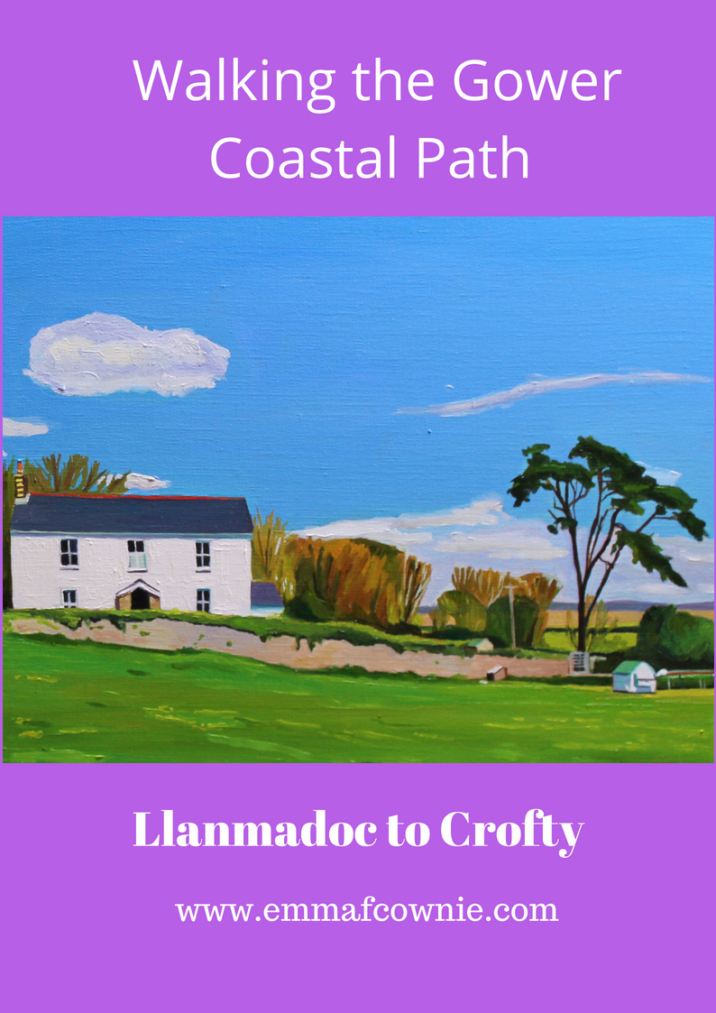 Gower Coastal Walk: Llanmadoc to Crofty
