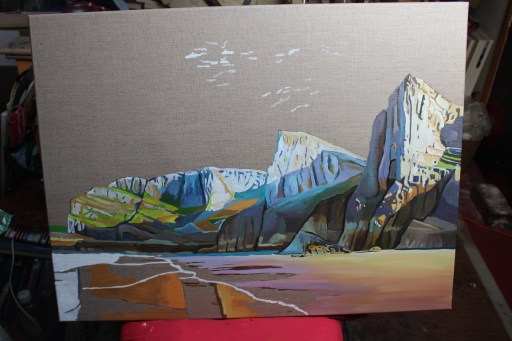 Work in Progress landscape of Gower