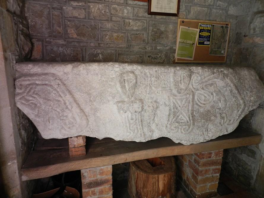 Leper Stone, Llanridian Church